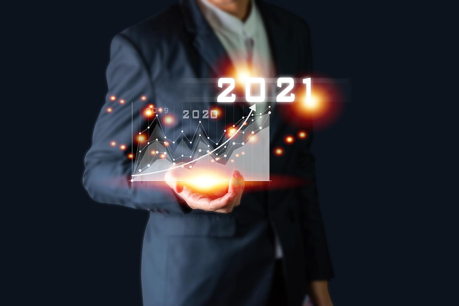 Bigstock Plan Business Growth In Year 396059159